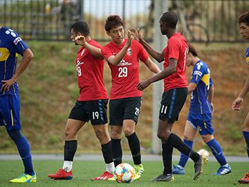 トレーニングマッチ vs 沖縄SV