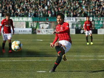 第3節 vs松本「興梠がPKを決めて1-0で勝利」