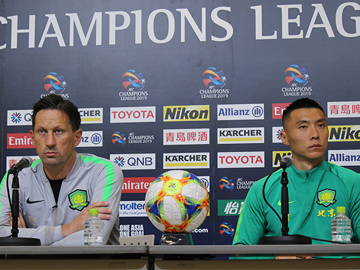 北京国安 試合前日公式会見