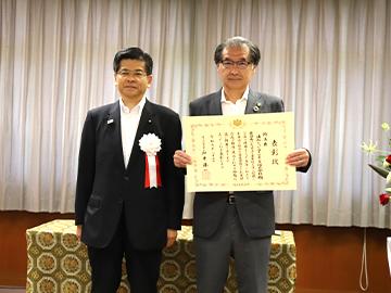 浦和レッズが国土交通省より『水資源功績者』を受賞