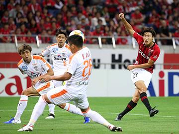第28節 vs 清水「興梠と橋岡の2ゴールで逆転勝利」