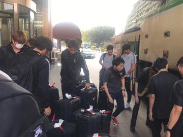 チームは無事広州へと到着