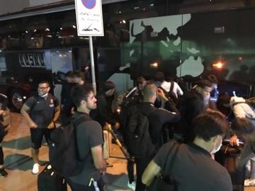 チームは無事サウジアラビアに到着