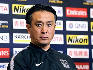 ACL アルヒラル戦 試合前日公式会見に大槻 毅監督と興梠慎三が出席