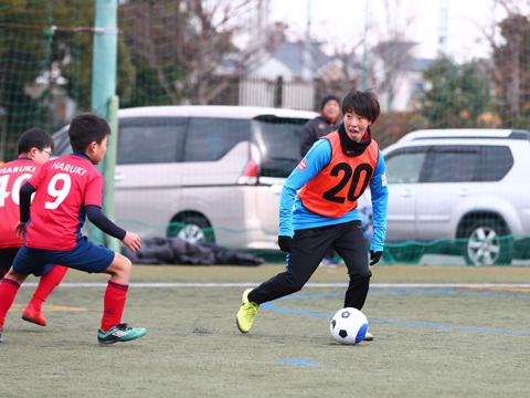 『第22回 交流サッカーフェスティバル』に、レディース選手、ハートフルクラブコーチが参加