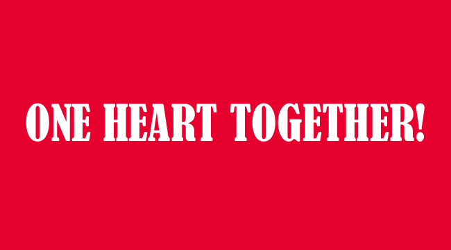 『ONE HEART TOGETHER!』おもいをホーム・埼スタに集結させよう!!